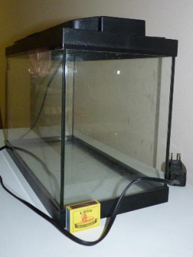 FULLY EQUIPPED MEDIUM AQUARIUM IN PERFECT CONDITION