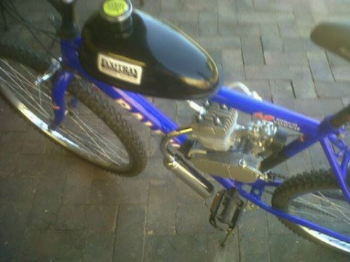 Motorise your bicycle,or get one built with a two stroke motor kit