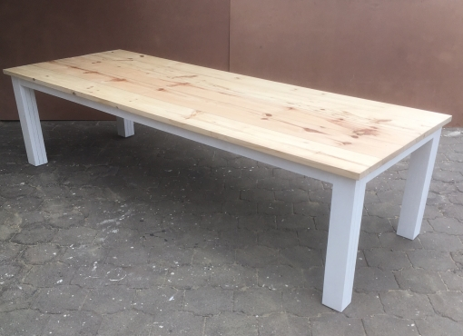 Patio table Chunky Cottage series 3000 Two tone