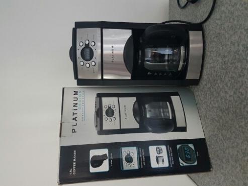Platinum Coffee Maker