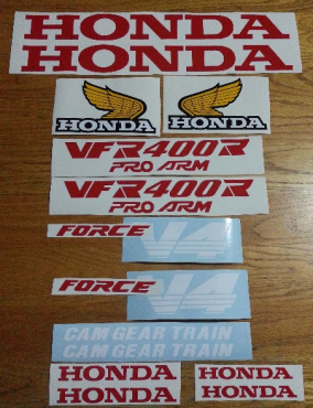 1984 VFR 1000R decals stickers graphics kit
