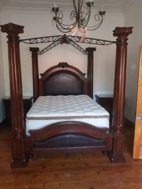 4 post bed (sonder matrass en base)