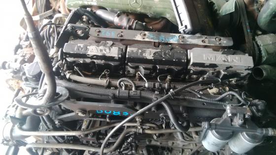 MAN ENGINE D0836