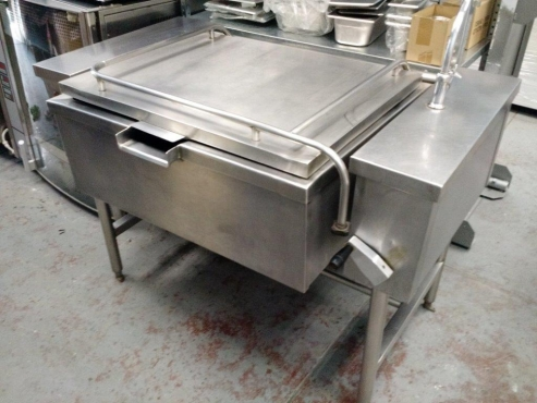 USED VULCAN 80L TILTING PAN - ELECTRIC - 3 PHASE 380V - GOOD CON.