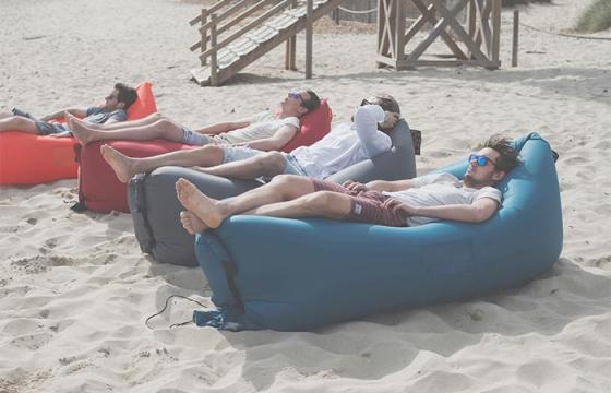 Inflatable Sleeper and Sofa (No pump needed)