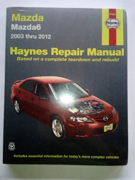 mazda 6 haynes workshop manual for sale junk mail rh junkmail co za Mazda 626 Engines Cyl Heads Specifications Mazda 626 Engine Parts
