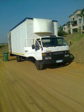 Toyota Dyna Turbo With Large Volume Body