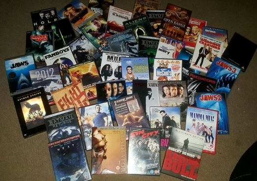 44 Original Dvd's collection