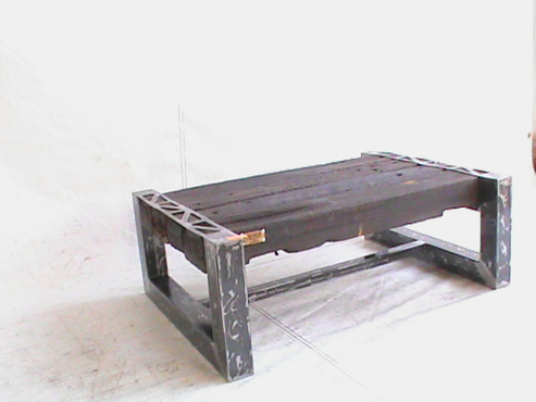 Uniquely hand made coffee table