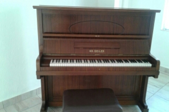 PIANO! ED SEILER KLAVIER!