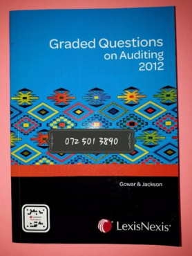 Graded Questions On Auditing 2012 - Gowar & Jackson.