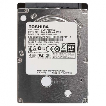 Toshiba 500gig laptop hard drive for sale