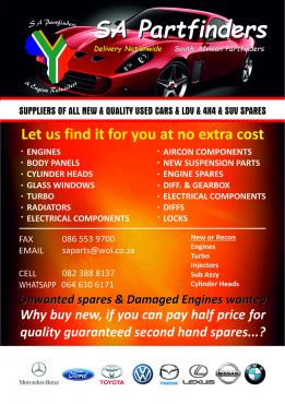 Nissan Navara 40lv6 Engine & Spares