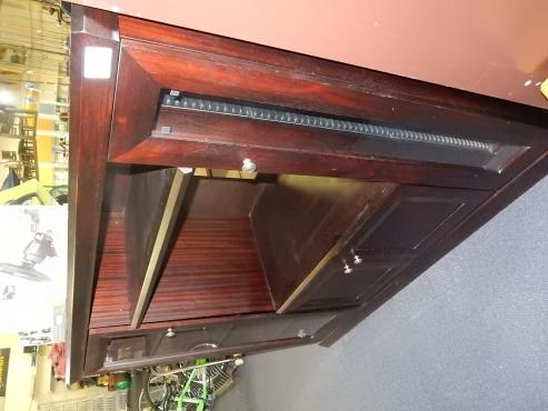 Wooden Two Door TV Cabinet
