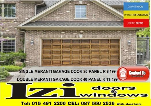 Garage Doors Wooden Meranti Junk Mail