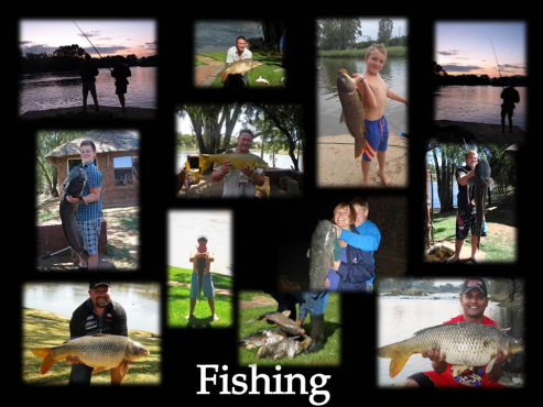 Day Visitors - Fishing - Vaal River - one Hr from JHB - R 50.00 per adult, R 25.00 per child