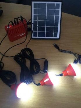 3x LED Solar Lighting kit (Special= R650) | Junk Mail