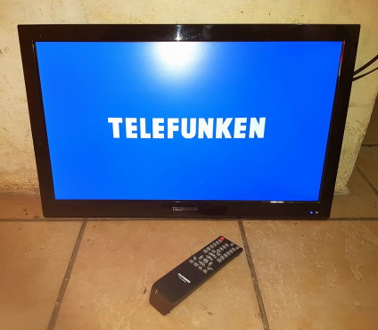 24 inch Telefunken LED TV with remote | Junk Mail