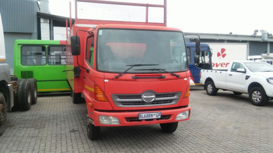 2011 Toyota Hino 1017 Rigid Truck with 7m Closed Body
