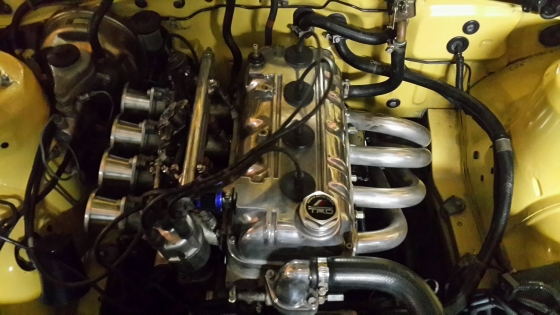 1983 Toyota Corolla 3T engine/gearbox/propshaft