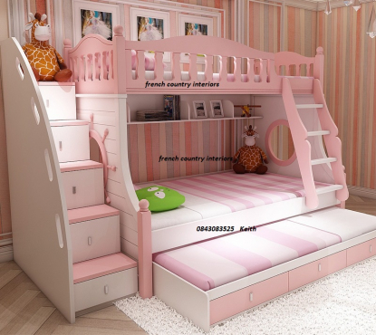 Stunning Tri bunk bed for girls