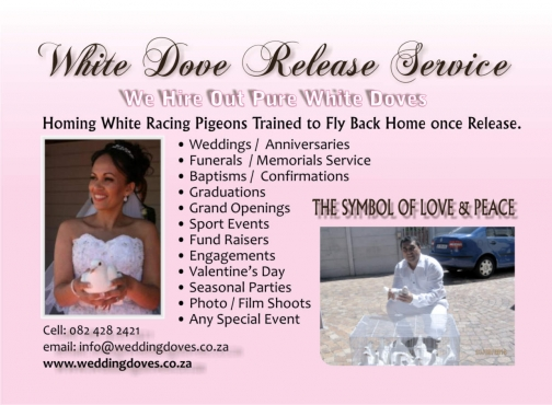 Do Something Different @ Weddings, Funerals, Peace Walks, Grand Openings; Events;  Baptisms ect. ( Western Cape only)