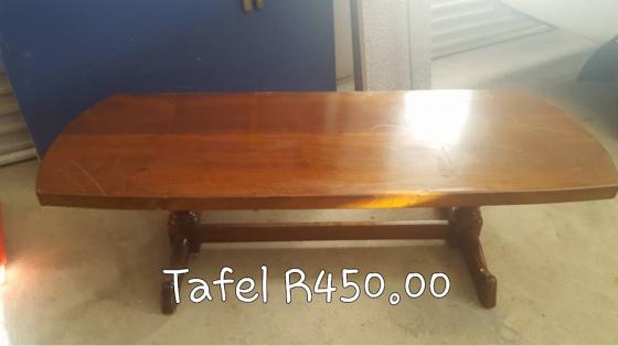 Te Koop Tafel : Hout tafel te koop junk mail