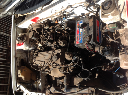 Stripping Ford Leisure 1997 for Spares
