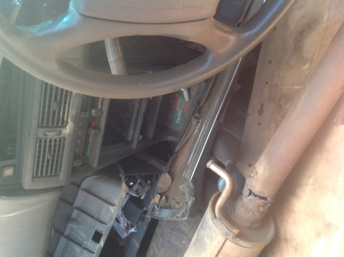 Stripping Toyota Conquest 1996 for Spares