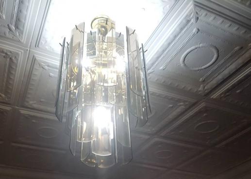 VINTAGE 1960'S CEILING LIGHT