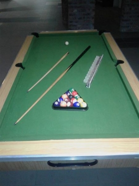 Pool table for SWOP.
