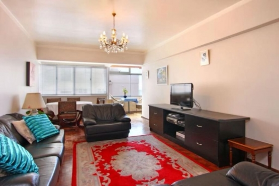 Sea Point Furnished 3 Bedroom Apartment with Sea Views