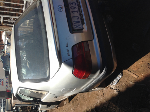 Stripping Toyota Corolla AE100 1999 for Spares