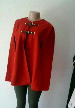 poncho, jacket