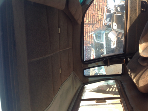Stripping Ford Bantam CVH 1995 for Spares