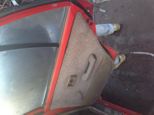 Stripping Toyota Conquest 1997 for Spares