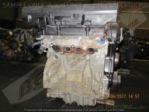 FORD FIESTA -FYJA/B 1.6L EFI 16V DURATEC Engine