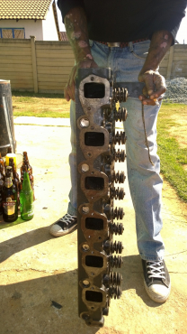 UD FE6 12valve - CYLINDER HEAD FOR SALE!!!!