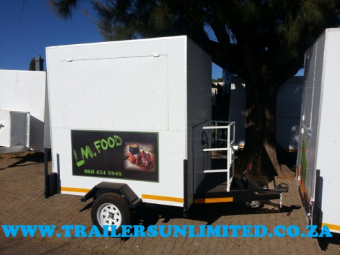 CATERING MOBILE KITCHENS. TRAILERS UNLIMITED.