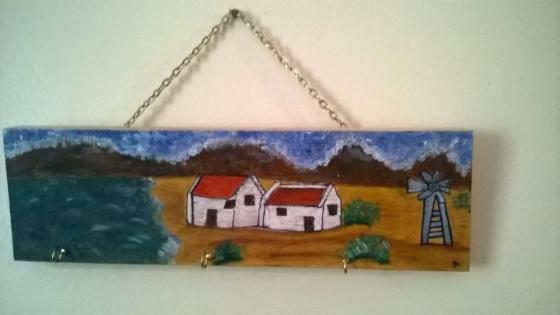Houtwerk te koop sleutelhouers juwele hanger