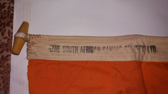 Old South african flag.