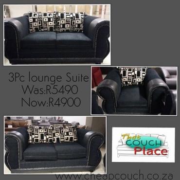 3Pc Lounge Suite