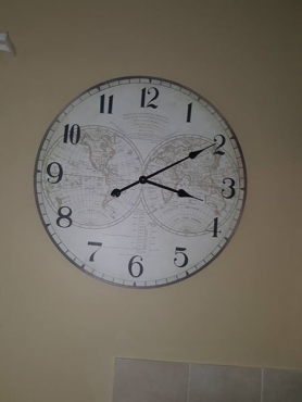 Clock for sale.