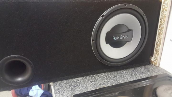 -Infinity box subwoofer