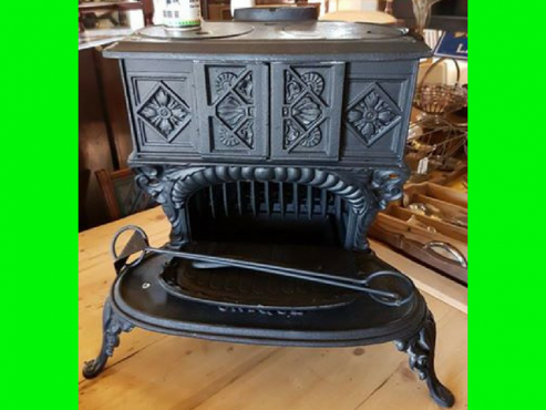 Refurbished Unique Wood/ Coal Stove