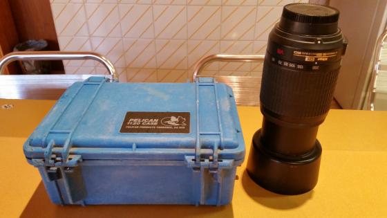 Nikkon D80 camera body with lens,lenses & rain proof case