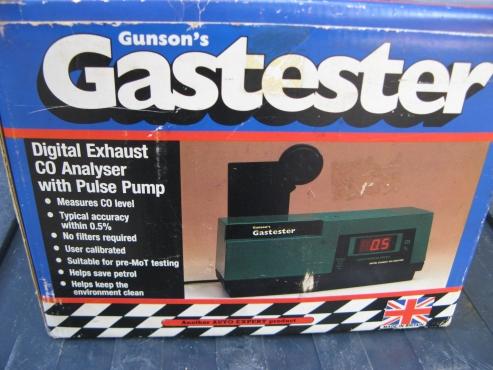 GUNSON GASTESTER MKII DIGITAL