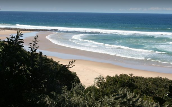Beach stand in the Eastern cape
