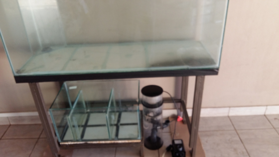 Bargain :4 foot marine  tank 1200x450x450 for sale