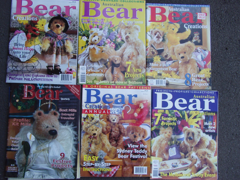 Bear  - Australian Magazines - Profiles and Collections - 9 magazines